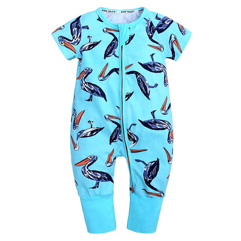 Pelican Summer Romper Baby Toddler Fashion Body - Just Kidding Store