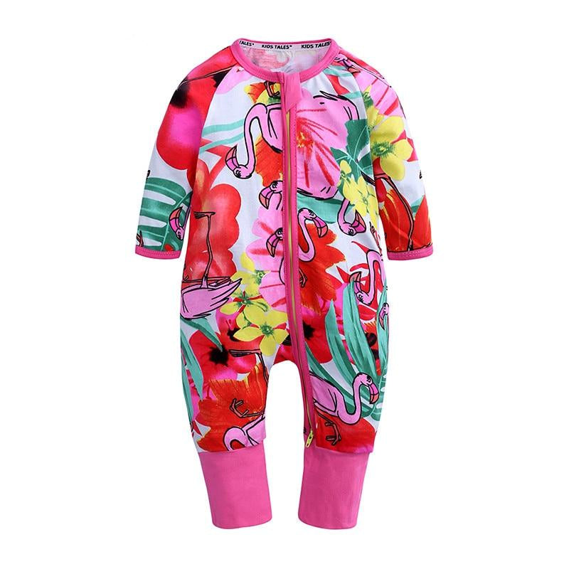 Flamingo Baby Kids Fashion Trendy Romper - Just Kidding Store