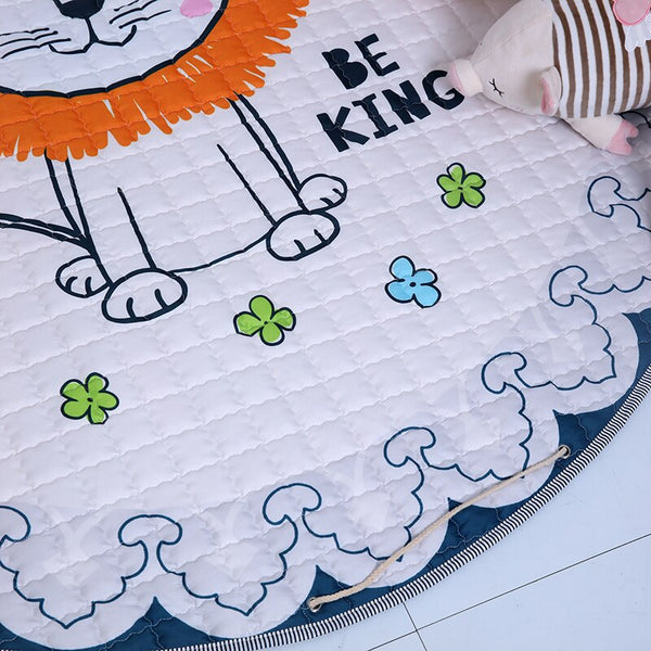 Baby Toddler Kids Activity Play Mat Toy Storage Bag Pouch  The Lion King Just Kidding Store