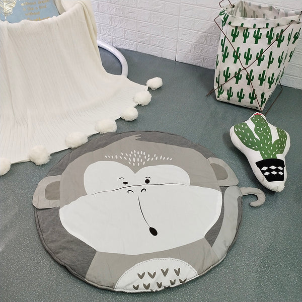 Monkey Play Mat Baby Kids Crawling Mat - Just Kidding Store