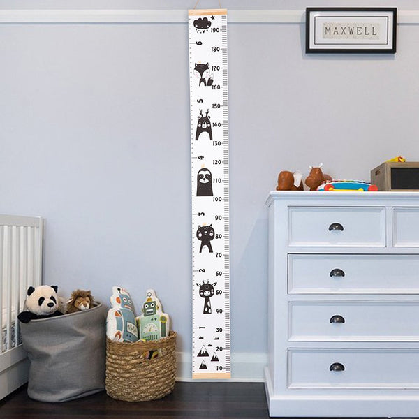 Wall Hanging Height Measure Ruler - Kids Growth Chart - Just Kidding Store