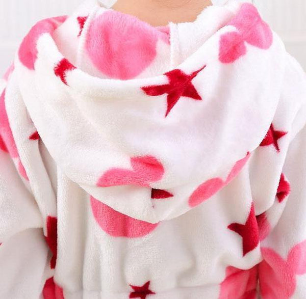 Lucky Star Flannel Robe
