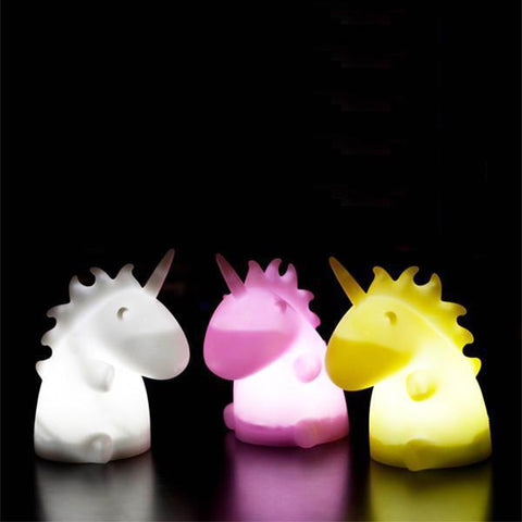 Unicorn Color Changing Night Light - Just Kidding Store