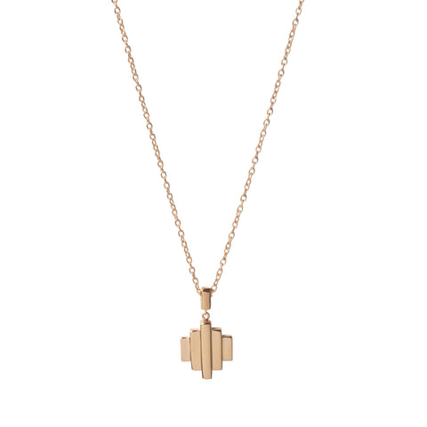 18kt Rose Gold Vermeil Baori One Pendant Necklace