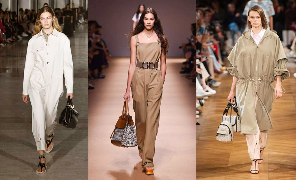 The utility trend: As seen on the catwalks