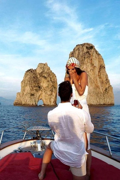 On holiday proposal