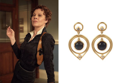 Polly Gray peaky blinders earrings