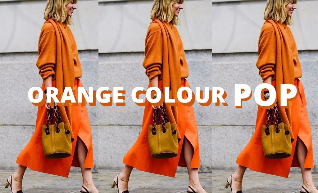 How to style the colour orange
