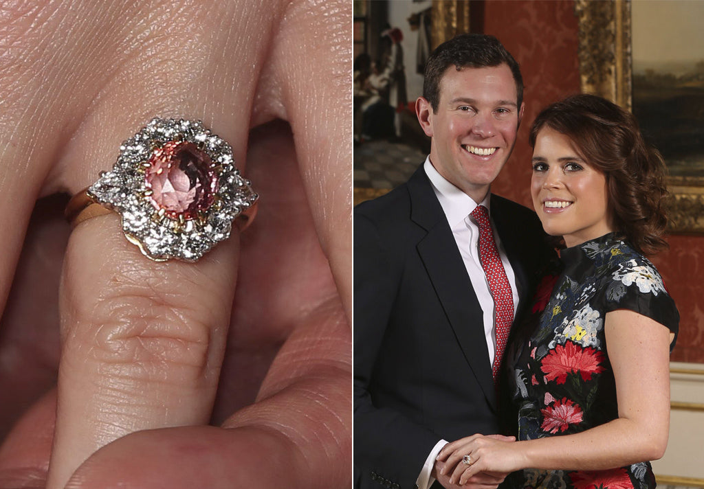 Princess Eugenies rare engagement ring is worth 100000