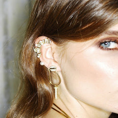 Statement Nail Pearl Ear-Cuff