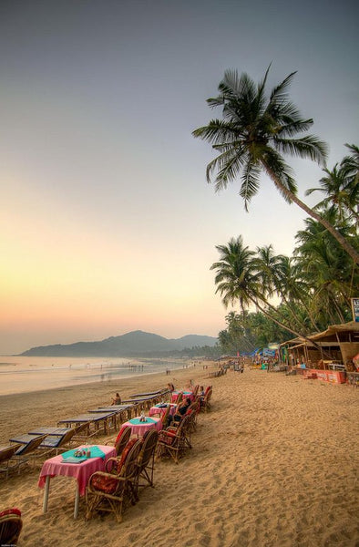 India beach honeymoon