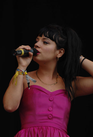 Lily Allen Glastonbury 2007