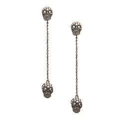 Twin Skull Earrings by Stefere