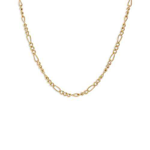 Yellow Gold Plated Delicate Chain Choker