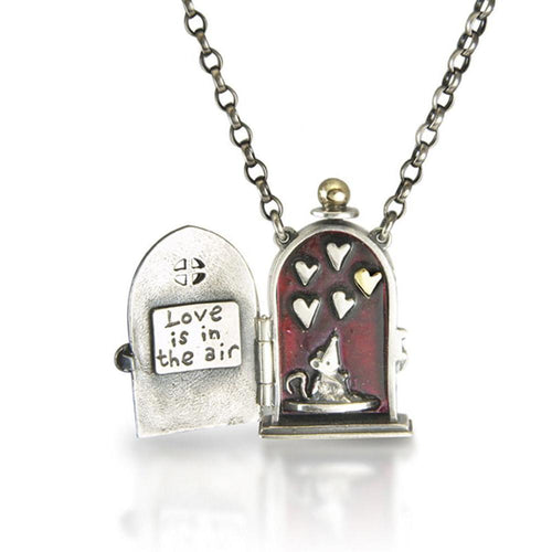 'Love is in the Air' Locket-Necklaces-Nick Hubbard Jewellery-JewelStreet