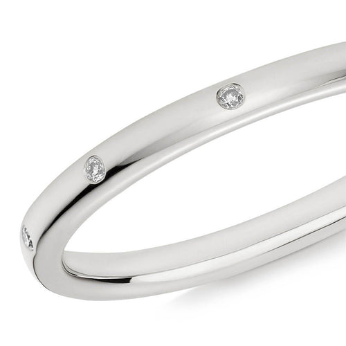 10 Stone XV Diamond Ring In 18kt White Gold ,[product vendor],JewelStreet