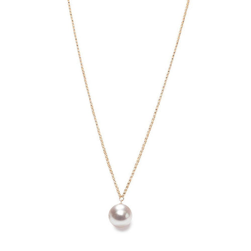 XXL Pearl Pendant - Gold-Necklaces-ORA Pearls-JewelStreet