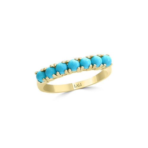 14kt Yellow Gold Turquoise Ring ,[product vendor],JewelStreet