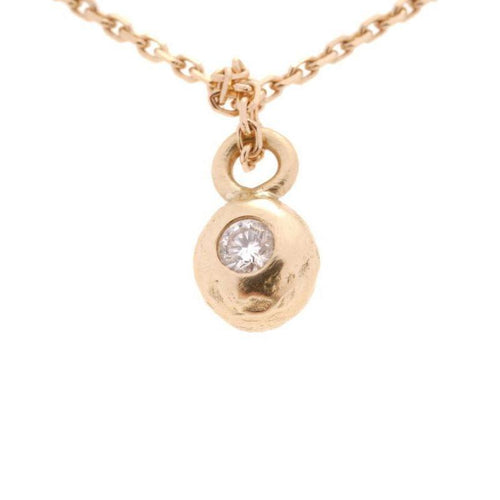 18kt Gold Ball Pendant-Necklaces-Erin Cox Jewellery-JewelStreet