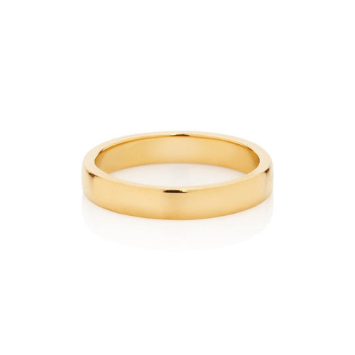 18kt Gold Round Band-Rings-Augustine Jewels-JewelStreet