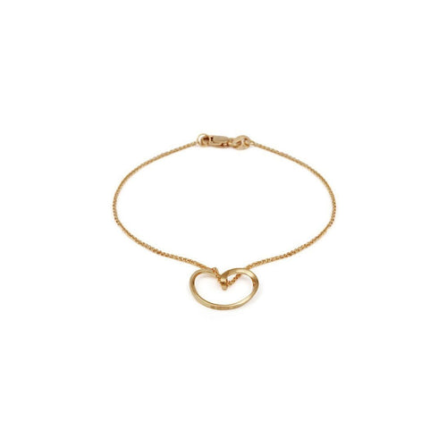 18kt Yellow Gold Bella Bracelet-Bracelets-September Rose-JewelStreet