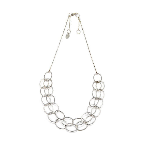 2 Line Cascade Necklace-Necklaces-Heather O Connor-JewelStreet