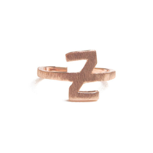 Alphabet - Z Ring-Rings-ZLABA-JewelStreet