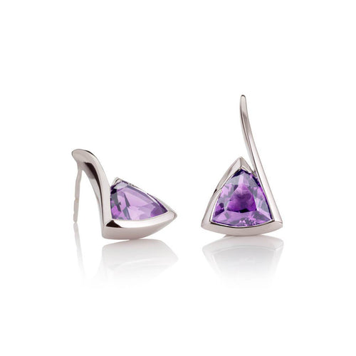 Amore Amethyst Earrings ,[product vendor],JewelStreet
