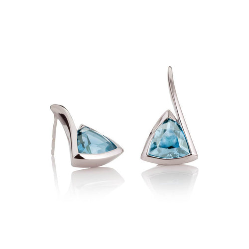Amore Blue Topaz Earrings ,[product vendor],JewelStreet