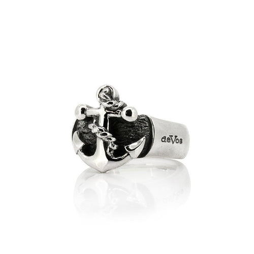 Anchor Ring-Rings-deVos Jewellery-JewelStreet