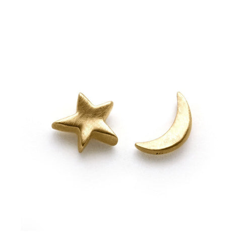 Arabian Night Stud Earrings-Earrings-ileava jewelry-JewelStreet
