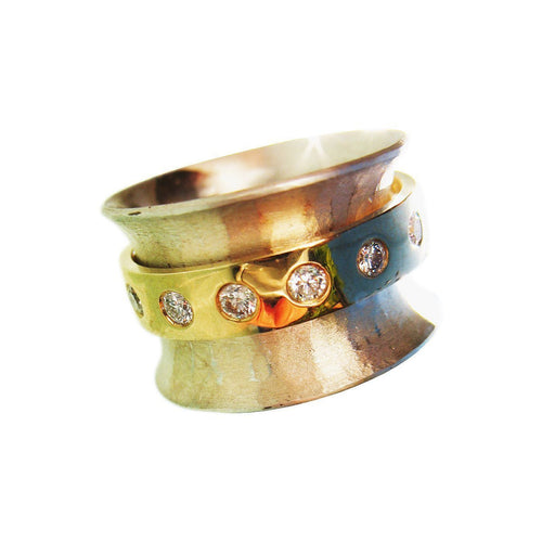 Band Free Ring-Rings-Whitford Jewellery Designer and Maker-JewelStreet