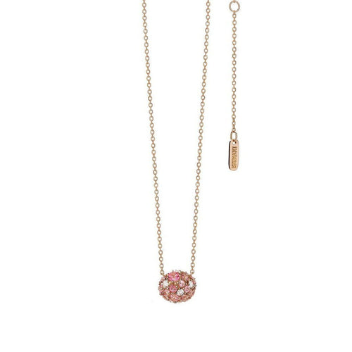 Baobab Bubbles Necklace in Rose Gold-Necklaces-Brumani-JewelStreet