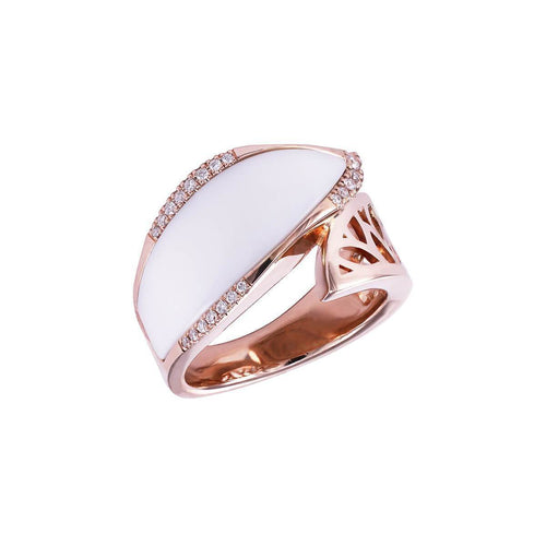 Bayside Snow Ring ,[product vendor],JewelStreet