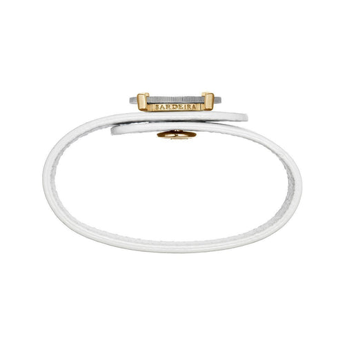 Be Free Bracelet White Gold and Yellow Gold-Bracelets-SARDEiRA-JewelStreet