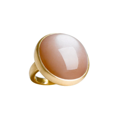 Big Golden Moon Ring-Rings-juniimjuli-JewelStreet