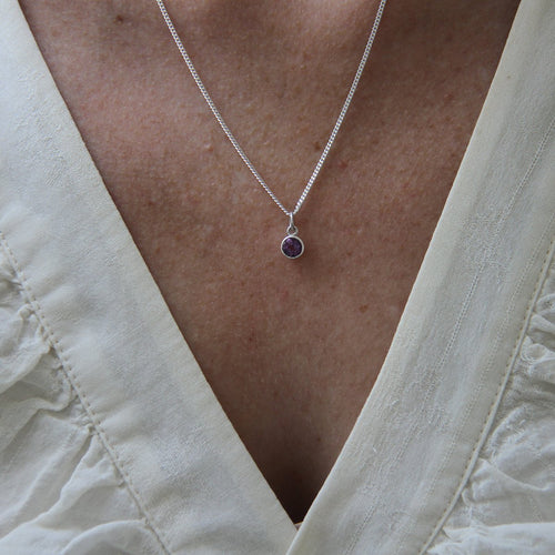 Birthstone Necklace-Necklaces-XISSJEWELLERY-JewelStreet