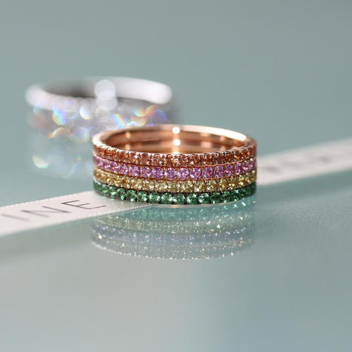 Full Bloom 3-Ring Combination ,[product vendor],JewelStreet