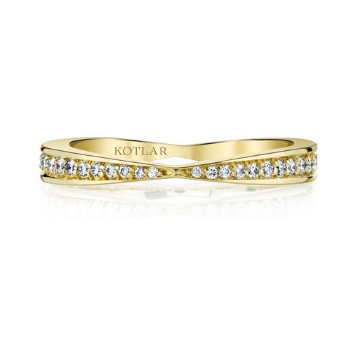 Bloom Artisan Pave Band-Rings-Harry Kotlar-JewelStreet
