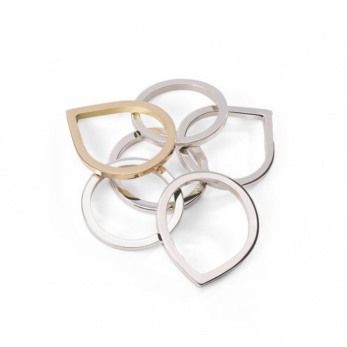 Bloom Dusk and Dawn Ring Stacker Set-Rings-Susan Driver-JewelStreet