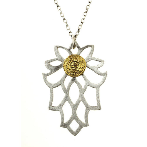 Bloom gold necklace-Necklaces-Sima Vaziry-JewelStreet