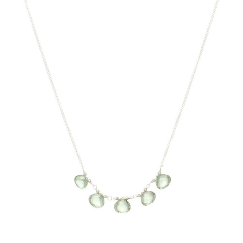 Breezy Green Amethyst Necklace ,[product vendor],JewelStreet
