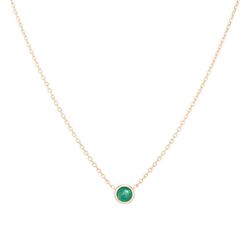 Classic Emerald May Choker ,[product vendor],JewelStreet