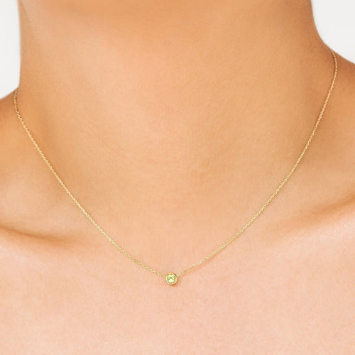 Classic Peridot August Choker ,[product vendor],JewelStreet