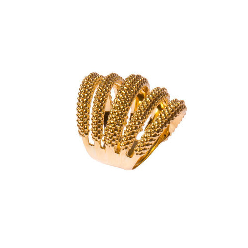 Composition Wave Ring-Rings-Carla Amorim-JewelStreet