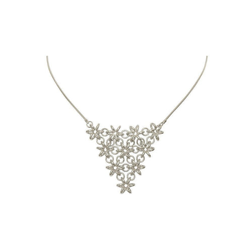 Daffodil V Shape Necklace-Necklaces-Maree London-JewelStreet