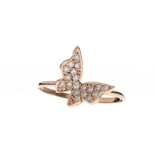 Diamond Butterfly Ring-Rings-Oh my Christine Jewelry-JewelStreet