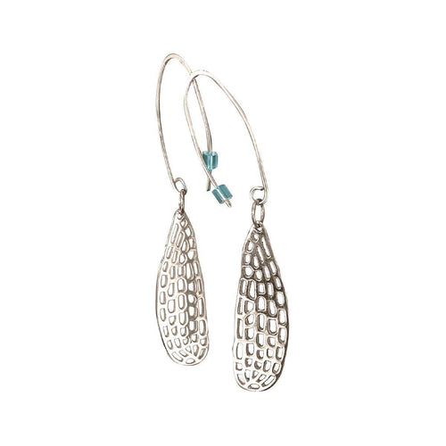 Dragonfly Wing Earrings ,[product vendor],JewelStreet