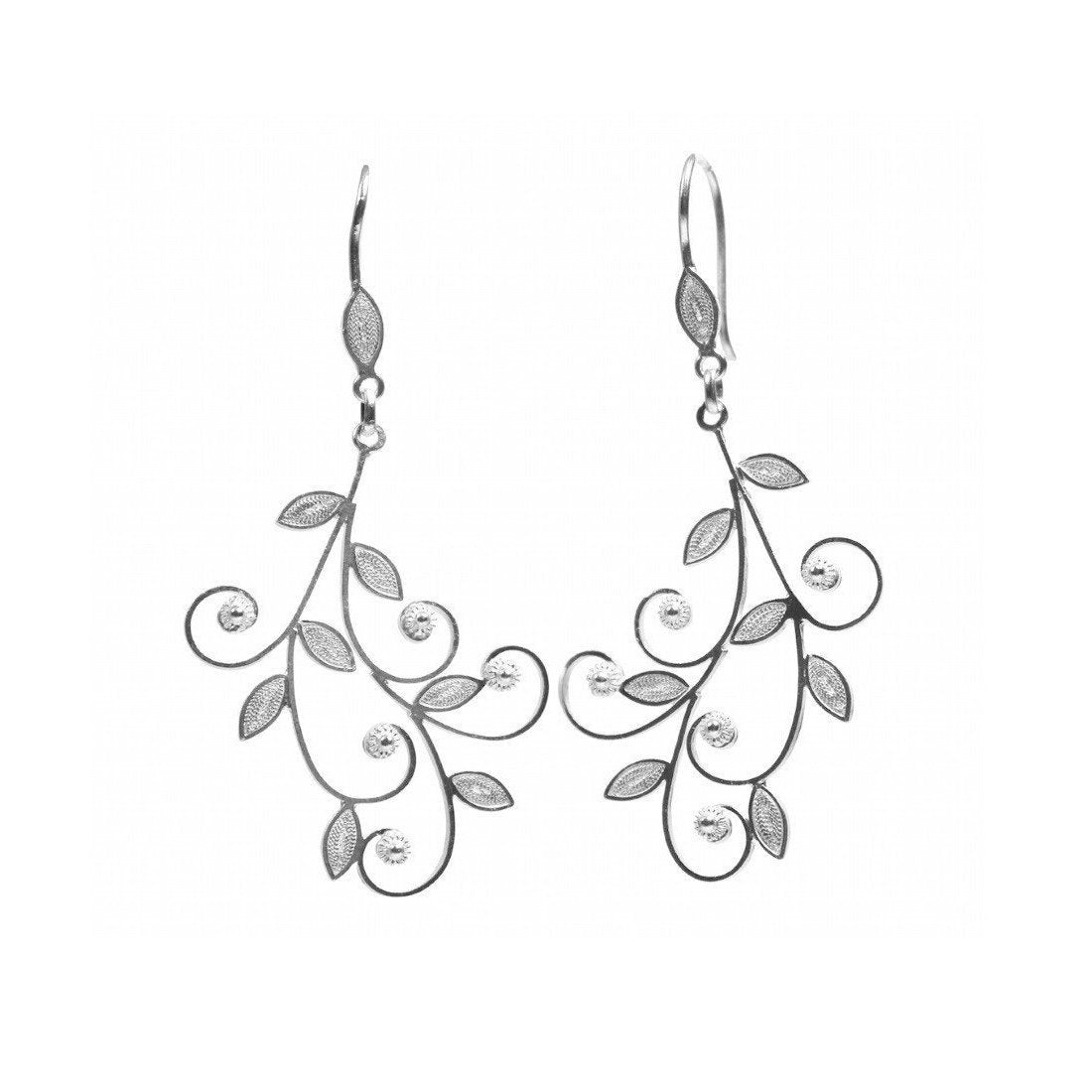 Filigree Muna Earrings-Earrings-Agora Jewellery-JewelStreet