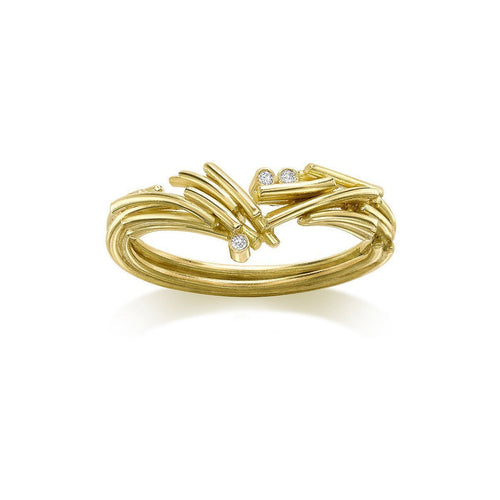 Flow V Ring-Rings-Karen Phillips-JewelStreet